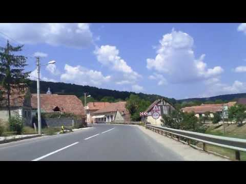 Enter Transylvania: Brasov - Sighisoara, Route 13 northbound