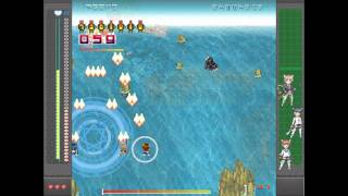 Strike Witches STG Type A gameplay Stage 1 (720p)