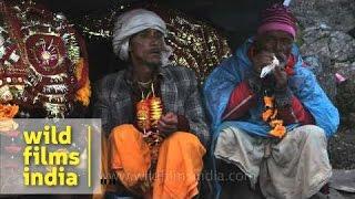 Devotees offer prayer to goddess Nanda Devi during Raj Jat Yatra