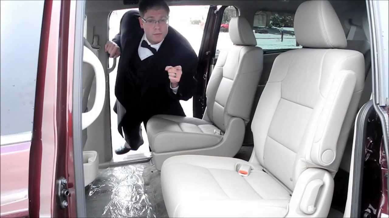 removing the center jump seat in a honda odyssey youtube
