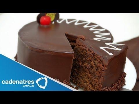 Receta para preparar pastel de chocolate.  Receta de pasteles : Pastel de chocolate thumbnail
