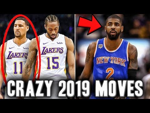 3 Crazy Moves We Could See In The 2019 NBA Free Agency