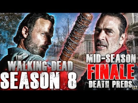 the walking dead season 8 mid season finale death predictions