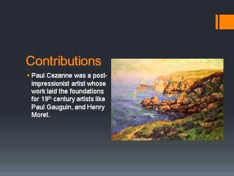 Paul Cezanne Final Powerpoint video
