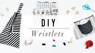 DIY Wristlet Clutch   No Sew Handbag Project   ANN LE
