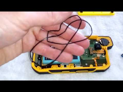 Sonim xp7700 xp7 teardown disassembly Battery and display replacement