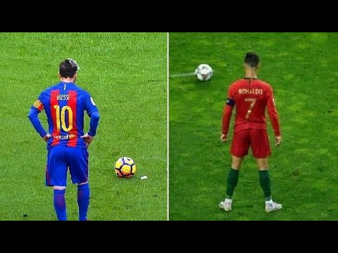 Messi vs Ronaldo Biggest Freekick Battle Ever