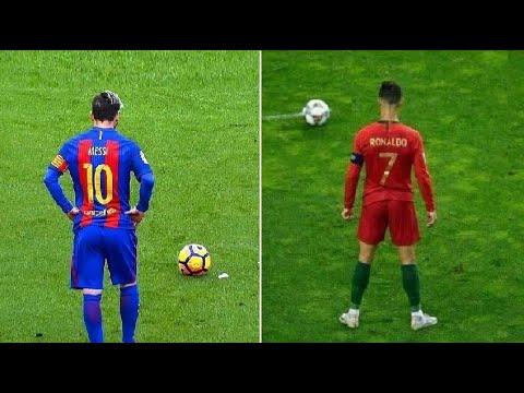 Download Messi vs Ronaldo Biggest Freekick Battle Ever