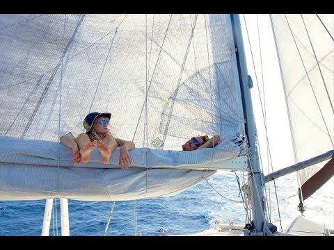 Sailing to JAMAICA & the DUCT TAPE sail repair... Sailing Zingaro Ep-15