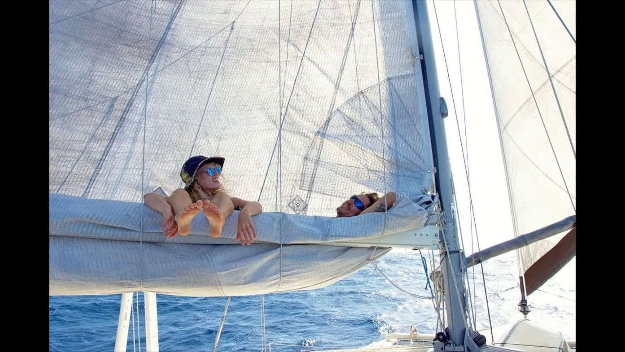 Sailing to JAMAICA & the DUCT TAPE sail repair... Sailing Zingaro Ep-15 - Sailing to JAMAICA & the DUCT TAPE sail repair... Sailing Zingaro Ep-15