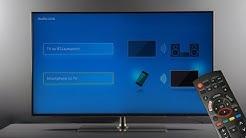 Bluetooth-Verbindung zwischen TV und Smartphone