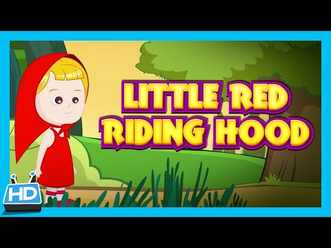 Little Red Riding Hood Story For Children - Full Story | Children Fairy Tales