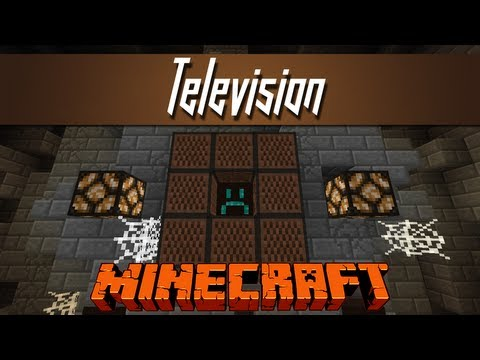 Minecraft - Micro TV Screen [1x1 Blocks, 8x8 Resolution!]