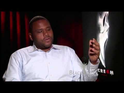 "Scream 4 , Anthony Anderson ""transcends color and gender for the right price...."""