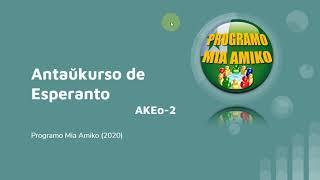 Antaŭkurso de Esperanto (AKEo-02) em Português
