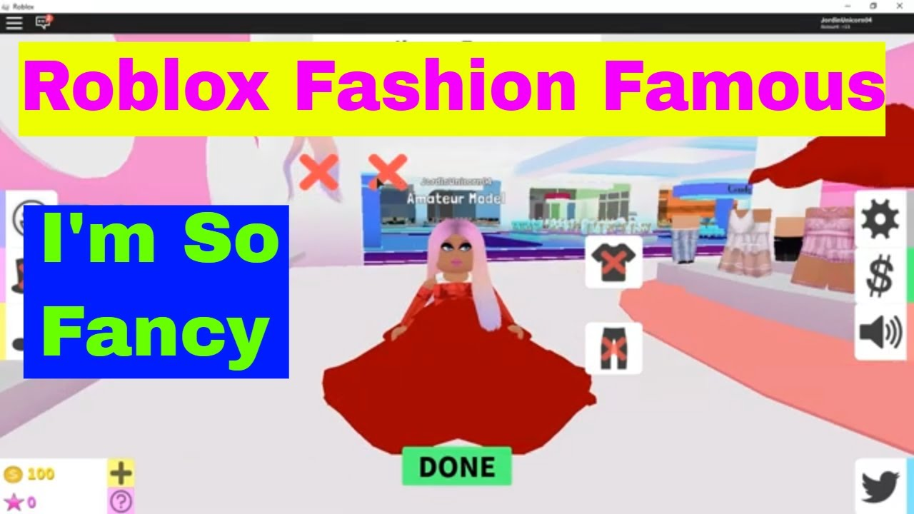 Roblox Fashion Famous Making I M So Fancy Outfits In Fashion