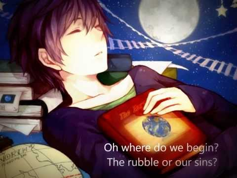 Pompeii - Nightcore (Lyrics)