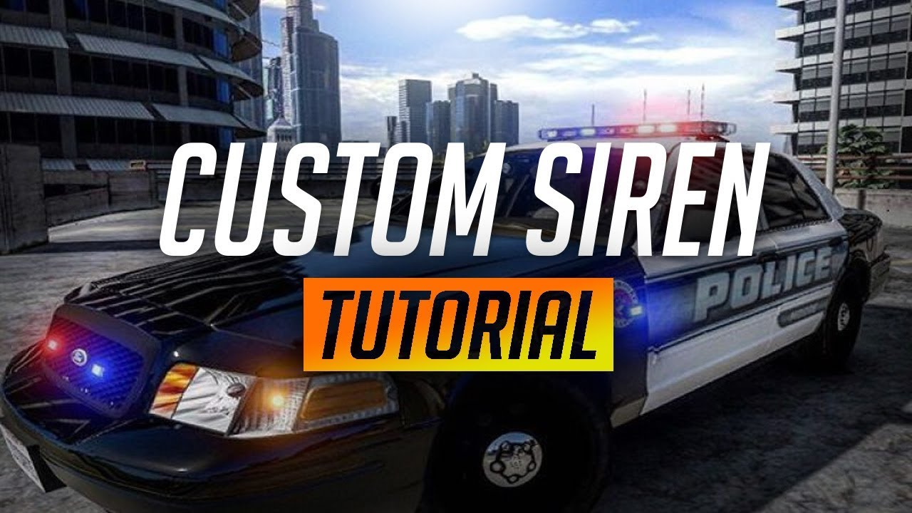 ✅[WORKING]✅ HOW TO GET CUSTOM SIRENS IN GTA V/ FIVEM!!!