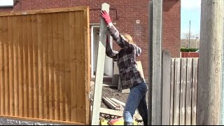 How to Erect concrete fencing