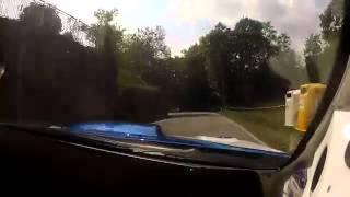 Robert Kubica i Manfredi kamera w aucie .Subaru WRC onboard 2012 Ronde Gomito di Lana
