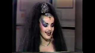 NINA HAGEN - LETTERMAN  INTERVIEW 1985