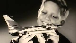 1960s POST CEREAL B-58 TOY PROMOTION COMMERCIAL