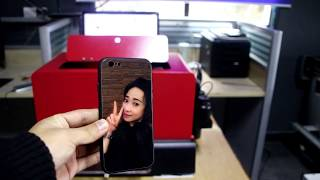 3D mobile phone shell photo color printing machine -  Start small business