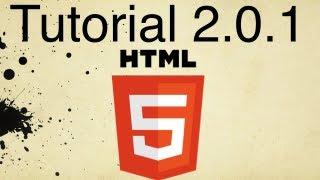 HTML5 Tutorial 2.0.1 | How to Create a Hypertext Link
