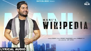 Wikipedia Mani Free MP3 Song Download 320 Kbps