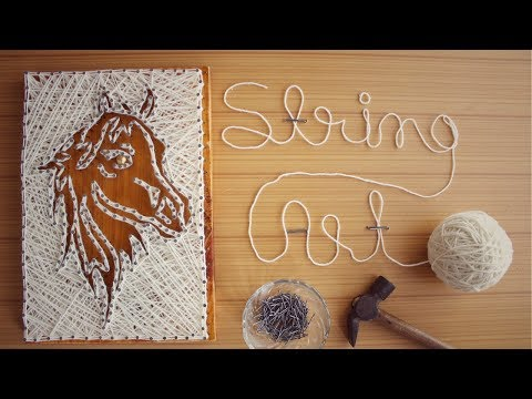 String Art / How to make DIY String Art | Dhara Patel