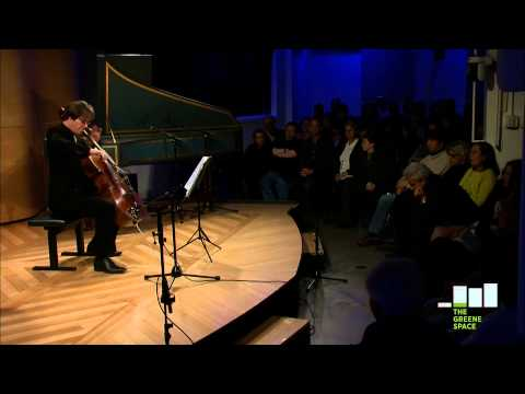 Bach: Cello Suite No 1 by Jan Vogler, Live in The Greene Space