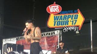 I saw Andy at Warped Tour (again) 😭💕 - Charlotte Vans Warped Tour Vlog(?)