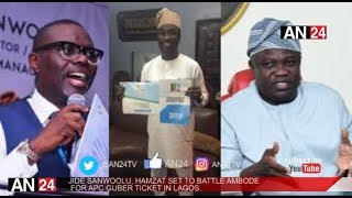 AMBODE'S SECOND TERM THREATENED AS TINUBU LOYALISTS ENDORSE JIDE SANWOOLU AS REPLACEMENT