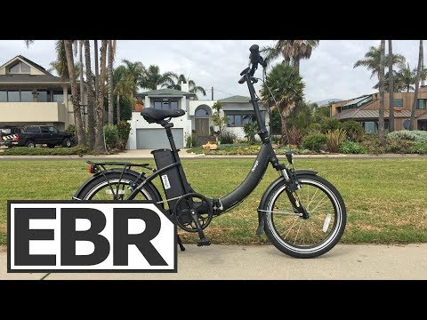 Amego Freedom Video Review - $1.3k Step-Thru Folding Electric Bike with Throttle