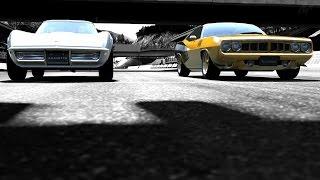 GT6 :: drifting the mountain with the 440 hemi & stingray corvette