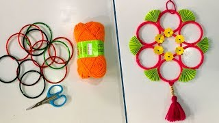 DIY || Old bangles reuse idea  | Best craft idea | DIY arts and crafts | Amazing craft idea