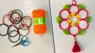 DIY || Old bangles reuse idea  | Best craft idea | DIY arts and crafts