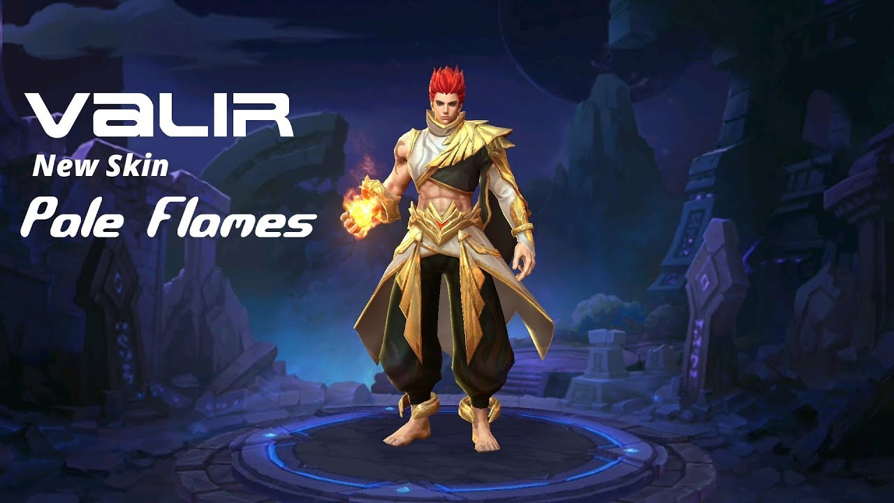 Valir New Skin Pale Flames