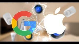 GOOGLE TROLLS APPLE AT THE PIXEL 2 launch event | google trolls iphone X | iphone X parody