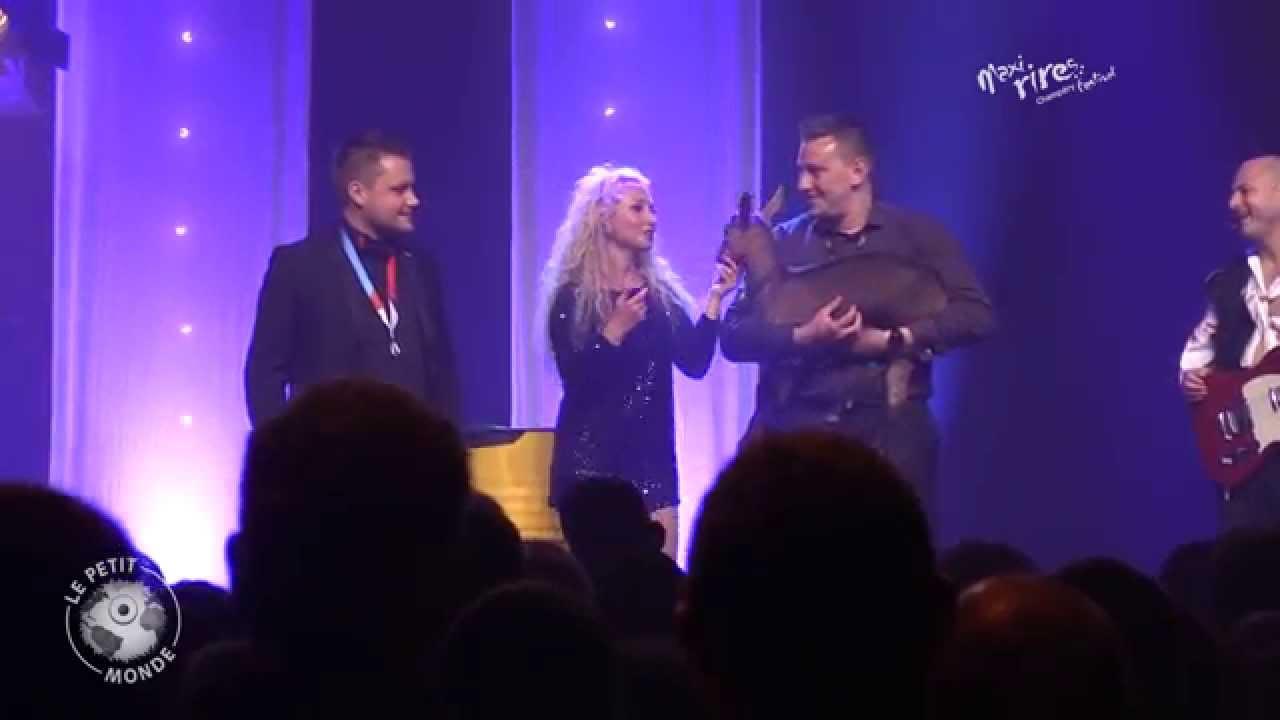 maxi rires festival 2014 emission 1 christelle chollet - Christelle Chollet Mariage