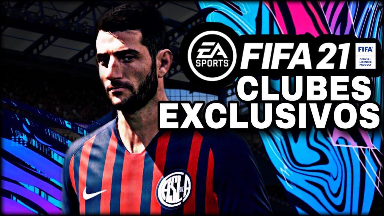 7 NUEVOS EQUIPOS LICENCIADOS PARA FIFA 21