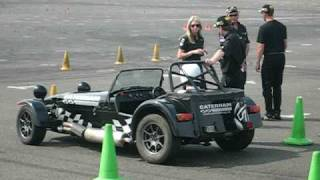 Caterham Drift day - one of the circuits learning to go sideways.