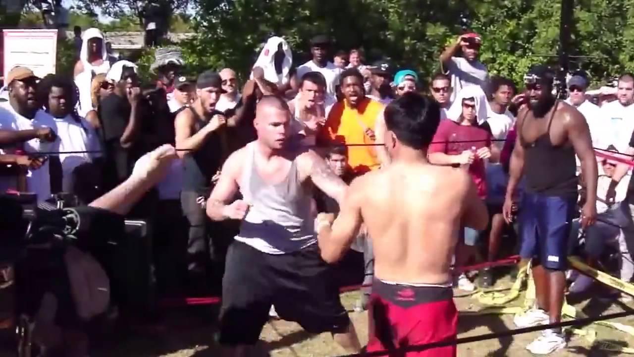 Backyard Fighting Knockouts