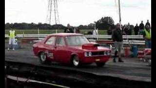 Avenger at York Dragstrip