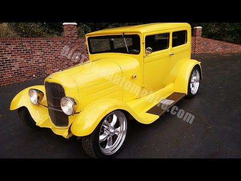 1929 Ford Model A Sedan Street Rod for sale Old Town Automobile in Maryland