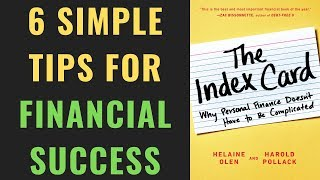 6 Simple Rules For Financial Success