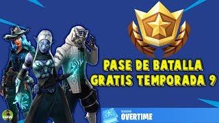 Overtime Challenges Battle Pass Season 9 FREE ? Fortnite