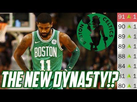 STARTING A NEW DYNASTY?! Rebuilding the Boston Celtics! NBA 2K18