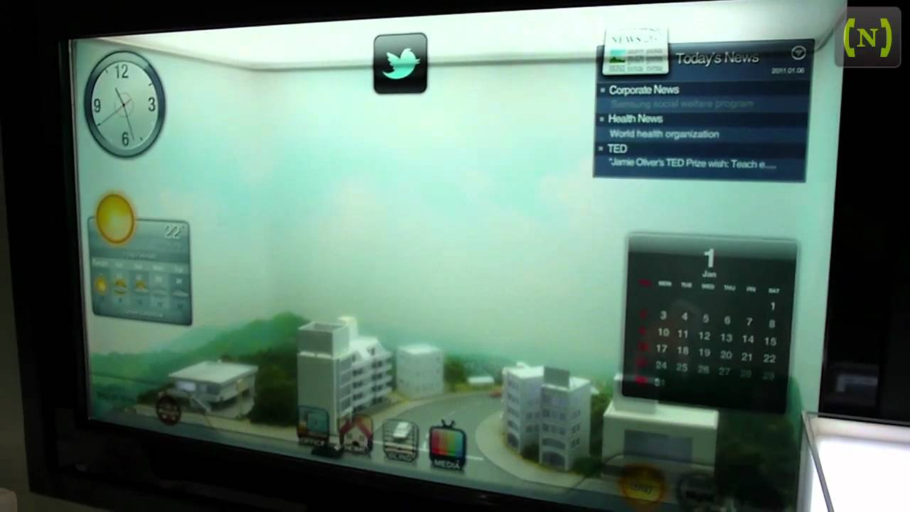 Samsung Smart Glass At Ces 2012 Youtube