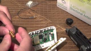 DJI Phantom 2 Vision Wifi Range Extender / Repeater  External Antenna Mod increase FPV range.